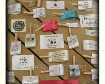 Care Labels / Bespoke Sew In Labels (15mm x 9cm) CE, EN71/3 Approved