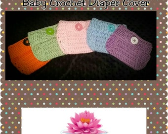 Made to Order Baby Crochet Diaper Cover