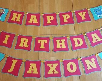Daniel Tiger Birthday Banner