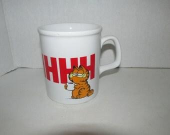 Vintage 1981 Garfield AHHH Mug