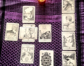 Ten Card Tarot Reading (text)