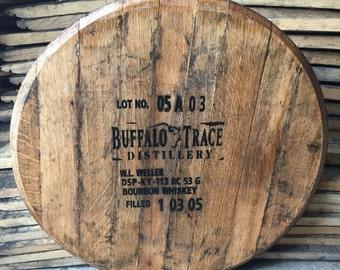 Buffalo Trace Bourbon Whiskey Barrel Head