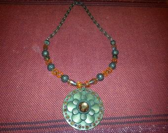 Beautiful beaded necklace