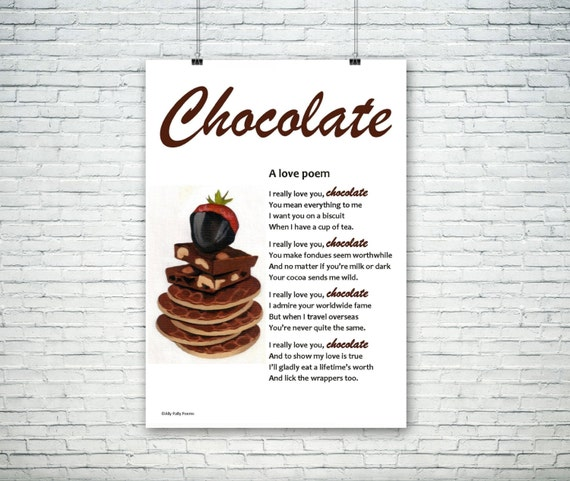 Mother S Day Chocolate Poem