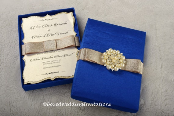 Luxury Wedding Invitation Couture Wedding By Boxedwedding