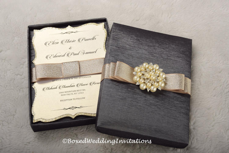 Box Of Wedding Invitations