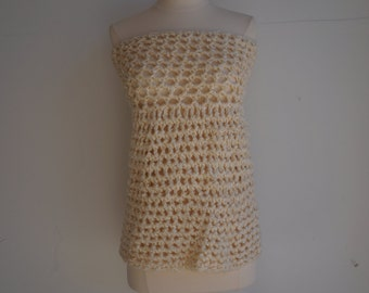 Warm Cream Tube Top or Skirt