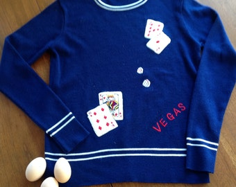 1970's Las Vegas Ladies Sweater