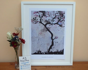 A3 Poster Print - Tree