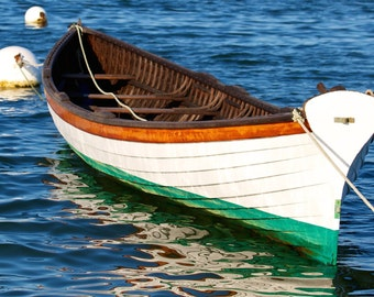 Grace ~ Vineyard Haven, Martha's Vineyard, Old Dory, Nautical, Boat, Photography, Coastal Home Decor, Wall Art, Joules, Photos, Artwork