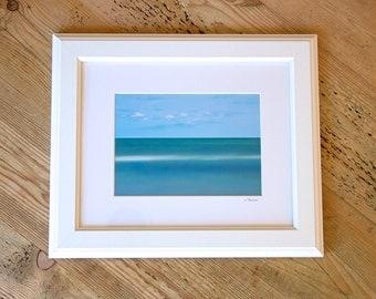 Teal Tide ~ East Beach, Charlestown, Rhode Island, Nautical, Framed Artwork, Beach Photography, Wall Art, Coastal Home Decor, Gift, Joules