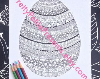 intricate alphabet coloring pages eggs - photo#38