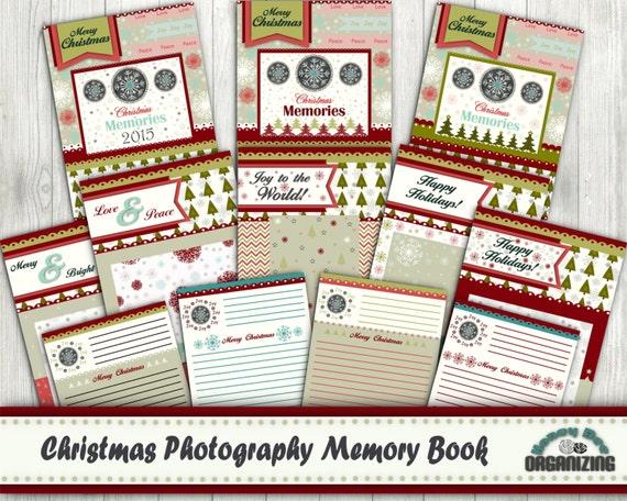 Madeline S Memories Vintage Christmas Cards: Printable Christmas Memories Keepsake Family Album Christmas