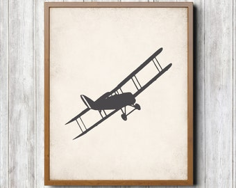 Airplane Printable 8 x 10