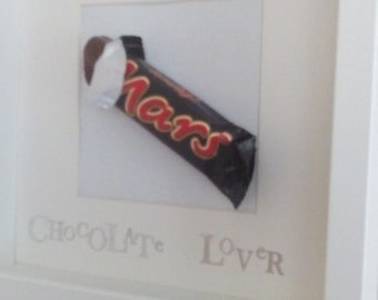 Chocolate Bar Picture Frame