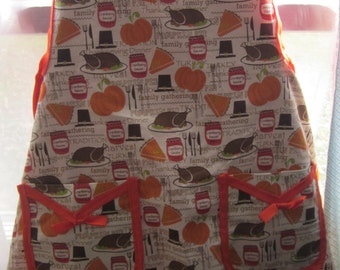 Thanksgiving Full Apron