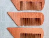 Wooden comb - Organic wood - cherries / Women's accessories