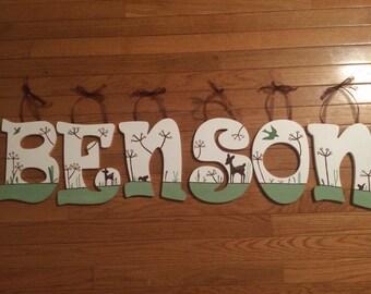 Willow Deer Nursery Letters