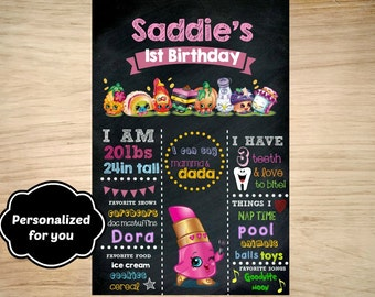 Shopkins Birthday sign,Shopkins Birthday,Shopkins sign,JPG file,sign,Birthday sign,Shopkins,Shopkins Photo Sign, Shoppers