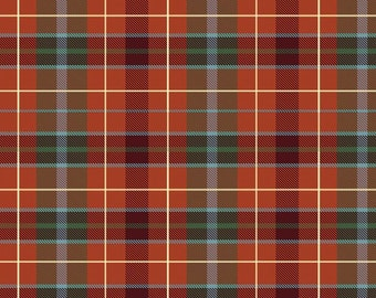 Winter Frost plaid by Northcott by the yard