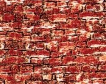Sleigh Ride Red Brick fabric from Wilmington Prints by the yard