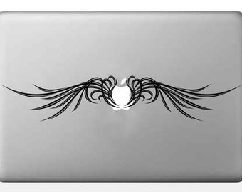 Angel Wings Decal, Macbook Decal Sticker, Laptop Decal Sticker, handmade,  DCL166