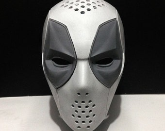 Deadpool Costume Mask Raw Face shell - Movie Version