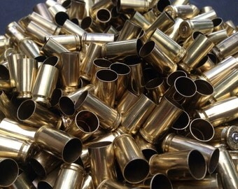 Once Fired 9mm Bullet Brass Casings (100x) Crafting material.  Spent bullet casings, 9mm reloading brass