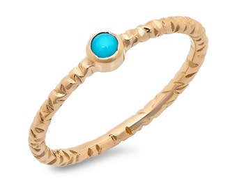 Round Turquoise Fashion Ring, Turquoise Ring, Fashion Ring