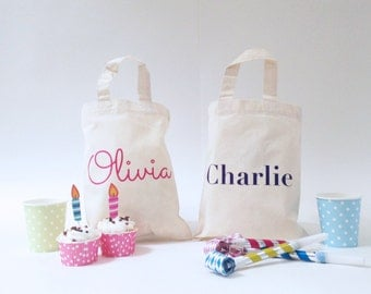 Personalised Party Bags perfect for Children's Birthday Parties
