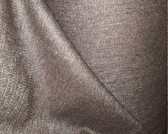 Luxury Italian wool flannel coat fabric  ,material ideal for coats and suits
