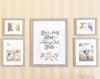 Home When You're Loved Print