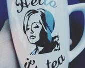 "Adele ""Hello it's Tea"" coffee mug"