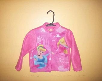 Cinderella fleece coat jacket, Disney princess, warm toddler jacket
