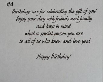 Birthday message #4