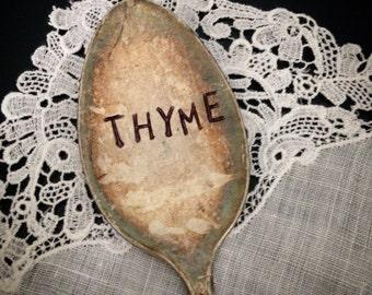 Thyme, Garden Marker