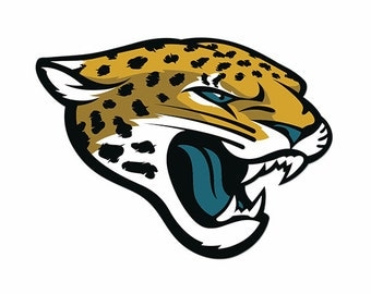 Full Color Jacksonville Jaguars - Die Cut Decal
