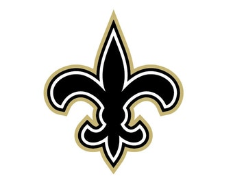Full Color New Orleans Saints - Die Cut Decal