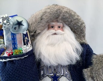 Dallas Cowboys Santa