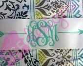 Arrow and Monogram Design...