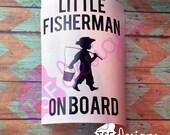 Little Fisherman On Board...