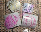 Fancy Circle Monogram...
