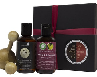 His and Hers Massage Oil Gift Set