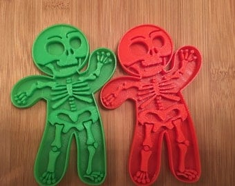 Skelton Halloween Cookie Cutter,Party Supply,October,Day Of The Dead,Baking,Neat Idea,Scary,Skeleton,Bones,Dead