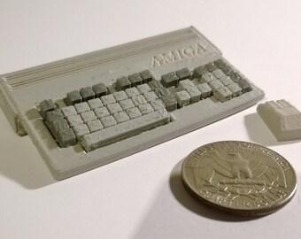 Mini Commodore Amiga A1200 - 3D Printed!