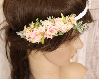 Floral Elastic Headpieces