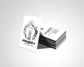 800 Raised Ink Business Cards
