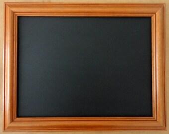 Pine Framed Chalkboard / Blackboard / Notice Board / Message Board