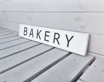 Bakery - Wooden Sign