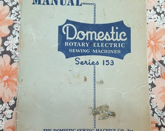 Domestic Seires 153 Instruction Manual